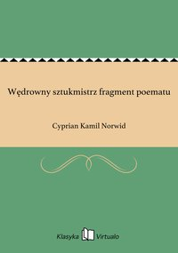 Wędrowny sztukmistrz fragment poematu