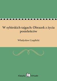 W sybirskich tajgach: Obrazek z życia posieleńców - Władysław Czaplicki - ebook