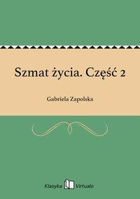 Szmat życia. Część 2 - Gabriela Zapolska - ebook