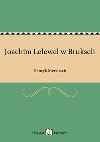 Joachim Lelewel w Brukseli