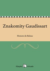 Znakomity Gaudissart