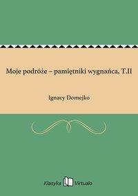 Moje podróże – pamiętniki wygnańca, T.II - Ignacy Domejko - ebook