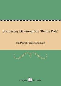 """Starożytny Dźwinogród i """"Rożne Pole"""" - Jan Paweł Ferdynand Lam - ebook"""