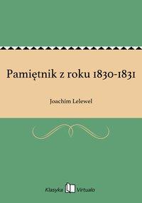 Pamiętnik z roku 1830-1831