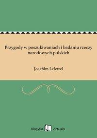 Przygody w poszukiwaniach i badaniu rzeczy narodowych polskich