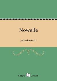 Nowelle - Julian Łętowski - ebook
