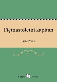 Piętnastoletni kapitan - Juliusz Verne - ebook