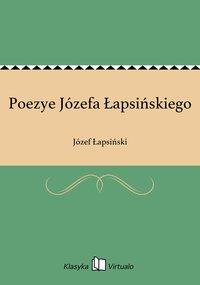 Poezye Józefa Łapsińskiego