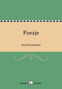 Poezje - Karol Świdziński - ebook