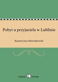 Pobyt u przyjaciela w Lublinie