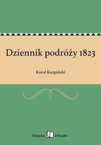 Dziennik podróży 1823
