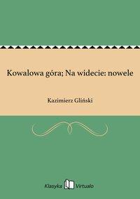 Kowalowa góra; Na widecie: nowele - Kazimierz Gliński - ebook