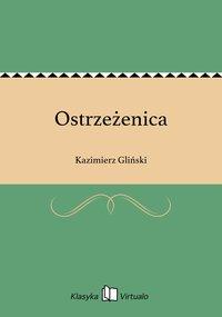 Ostrzeżenica - Kazimierz Gliński - ebook