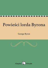 Powieści lorda Byrona