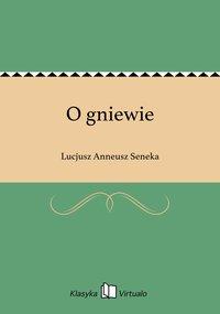 O gniewie - Lucjusz Anneusz Seneka - ebook