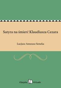 Satyra na śmierć Klaudiusza Cezara