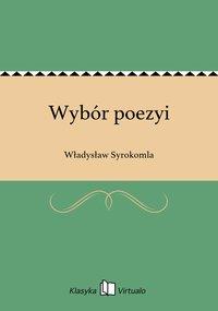 Wybór poezyi - Władysław Syrokomla - ebook