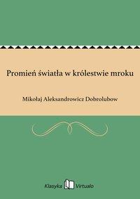 Promień światła w królestwie mroku - Mikołaj Aleksandrowicz Dobrolubow - ebook