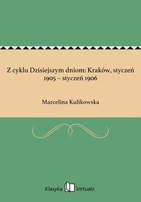 Z cyklu Dzisiejszym dniom: Kraków, styczeń 1905 – styczeń 1906