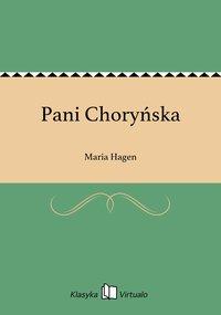 Pani Choryńska - Maria Hagen - ebook