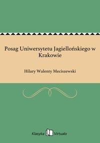 Posag Uniwersytetu Jagiellońskiego w Krakowie