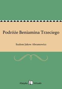 Podróże Beniamina Trzeciego - Szalom Jakow Abramowicz - ebook