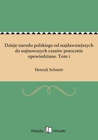 Dzieje narodu polskiego od najdawniejszych do najnowszych czasów potocznie opowiedziane. Tom 1 - Henryk Schmitt - ebook