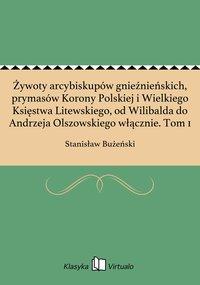 Żywoty arcybiskupów gnieźnieńskich, prymasów Korony Polskiej i Wielkiego Księstwa Litewskiego, od Wilibalda do Andrzeja Olszowskiego włącznie. Tom 1