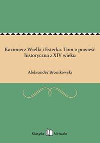 Kazimierz Wielki i Esterka. Tom 1: powieść historyczna z XIV wieku