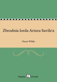 Zbrodnia lorda Artura Savile'a