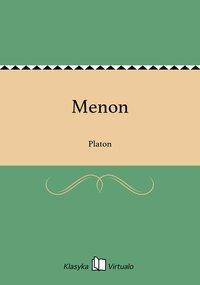 Menon - Platon - ebook