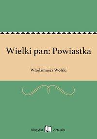 Wielki pan: Powiastka - Włodzimierz Wolski - ebook