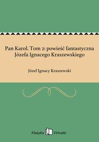 Pan Karol. Tom 2: powieść fantastyczna Józefa Ignacego Kraszewskiego