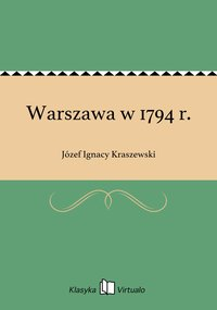 Warszawa w 1794 r.