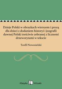 Dzieje Polski w obrazkach wierszem i prozą dla dzieci z dodaniem historyi i jeografii dawnej Polski treściwie zebranej z licznemi drzeworytami w tekscie