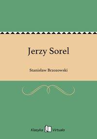 Jerzy Sorel - Stanisław Brzozowski - ebook