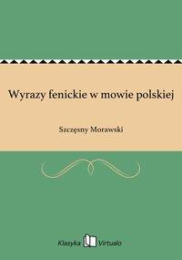 Wyrazy fenickie w mowie polskiej