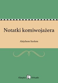 Notatki komiwojażera - Alejchem Szolem - ebook