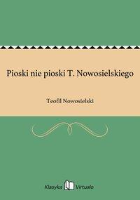 Pioski nie pioski T. Nowosielskiego