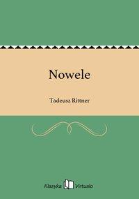 Nowele - Tadeusz Rittner - ebook