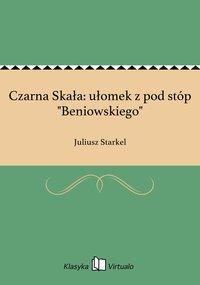 """Czarna Skała: ułomek z pod stóp """"Beniowskiego"""""""
