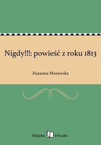 Nigdy!!!: powieść z roku 1813
