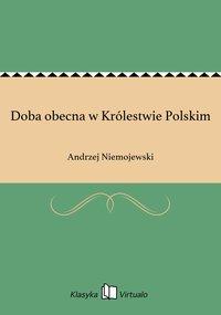 Doba obecna w Królestwie Polskim - Andrzej Niemojewski - ebook