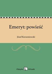 Emeryt: powieść