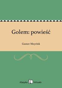 Golem: powieść
