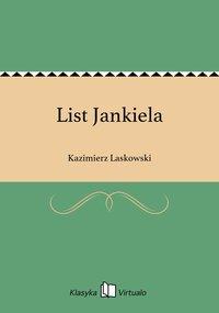 List Jankiela - Kazimierz Laskowski - ebook