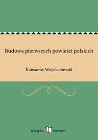 Budowa pierwszych powieści polskich