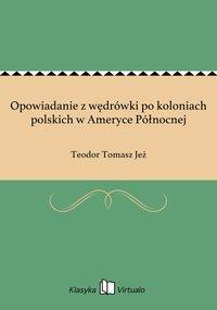 Opowiadanie z wędrówki po koloniach polskich w Ameryce Północnej - Teodor Tomasz Jeż - ebook
