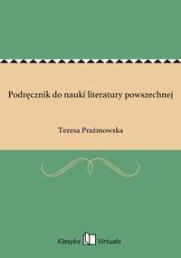 Podręcznik do nauki literatury powszechnej