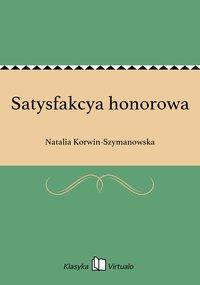Satysfakcya honorowa
